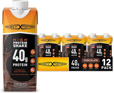 Body Fortress Ready to Drink Protein Shake 40g Protein 11 Fl Oz  Chocolate - 12 Pack ($19.99 w/DPS10 coupon code)