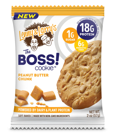 Lenny & Larry's The BOSS! Cookie   Peanut Butter Chunk  - 12 Cookies  *$17.99 w/coupon code DPS10