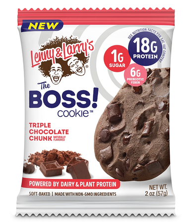 Lenny & Larry's The BOSS! Cookie  Triple Chocolate Chunk - 12 Cookies  *$17.99 w/coupon code DPS10