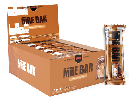 Redcon1 MRE Bars S'Mores - 12 Bars