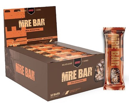 Redcon1 MRE Bars Crunchy Peanut Butter Cup - 12 Bars