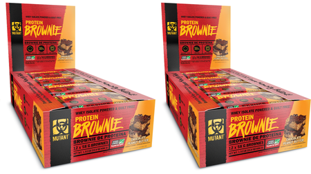 -Mutant Protein Brownies Chocolate Peanut Butter - 24 Brownies (2 x 12 Brownies)  TWINPACK ($10.99 each w/coupon code DPS10)