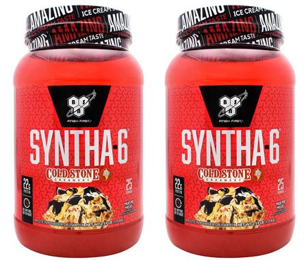 -Bsn Syntha 6 Mud Pie Mojo TWINPACK - 2 x 2.59 Lb (5.18 Lb 50 Servings) *$36.98 w/coupon code DPS10