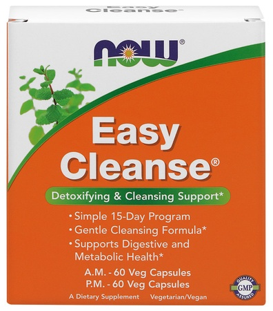 Now Foods Easy Cleanse Detoxifying & Cleansing Support - 2 Bottles