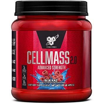 Bsn Cellmass 2.0 Blue Raz - 50 Scoops