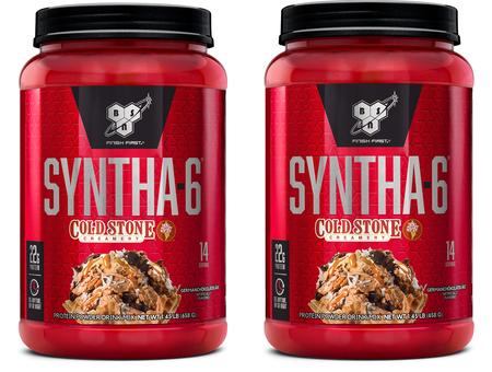 -Bsn Syntha 6 Cold Stone Germanchokolatekake- 2.9 Lb (28 Servings) 2 x 1.45 Lb Btls ($24.99 w/coupon code DPS10)
