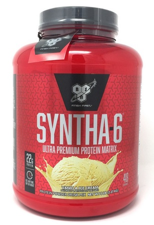 Bsn Syntha-6 Isolate Vanilla Ice Cream - 4 Lb