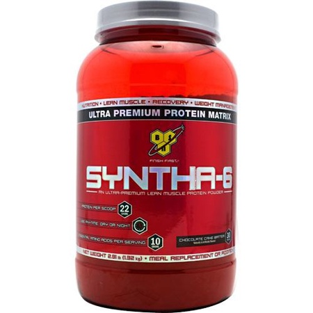 Bsn Syntha-6 Protein  Chocolate Cake Batter - 2.91 Lb