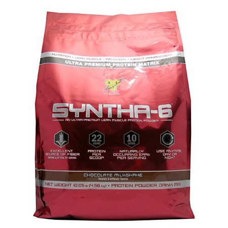 Bsn Syntha-6 Protein  Chocolate Milkshake - 10 Lb Bag