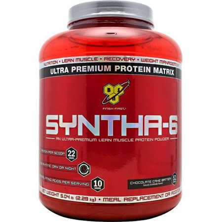Bsn Syntha-6 Protein Chocolate Cake Batter - 5.04 Lb