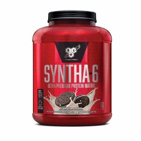Bsn Syntha-6 Protein  Cookies & Cream - 5.04 Lb