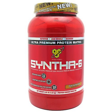 Bsn Syntha-6 Protein  Peanut Butter Cookie - 2.91 Lb