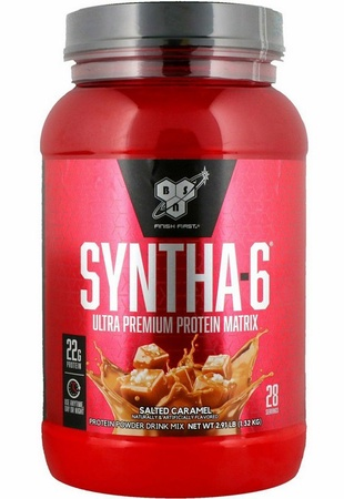 -Bsn Syntha-6 Protein  Salted Caramel - 2.91 Lb (28 Servings) *$19.99 w/code DPS10