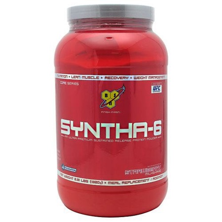 Bsn Syntha-6 Protein  Strawberry - 2.91 Lb