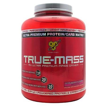 Bsn True Mass Strawberry - 5.75 Lb