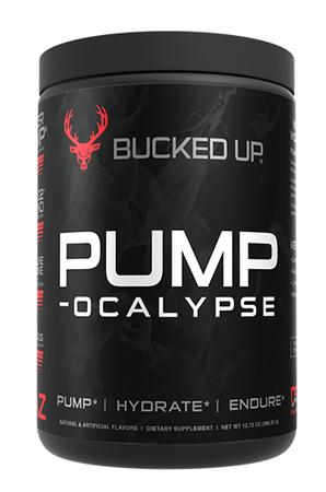 Bucked Up PUMP-ocalypse  Blood Raz - 30 Servings