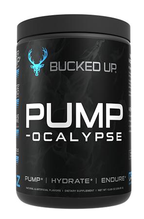 Bucked Up PUMP-ocalypse  Blue Raz - 30 Servings