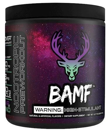 Bucked Up BAMF Pump N' Grind (Grape & Green Apple) - 30 Servings
