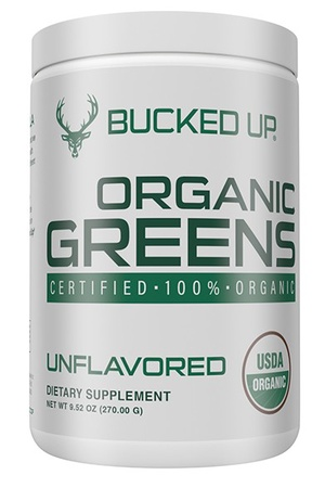 Bucked Up Organic Greens  Unflavored - 30 Servings