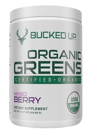 Bucked Up Organic Greens  Mixed Berry - 30 Servings