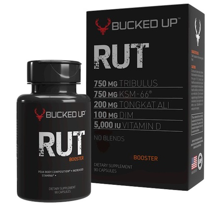 Bucked Up RUT  Testosterone Booster - 90 Cap