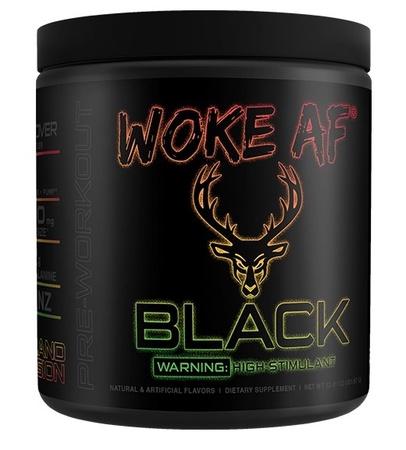 Bucked Up Woke AF BLACK  Island Fusion - 30 Servings