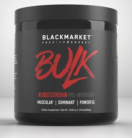 Blackmarket Labs BULK Preworkout Watermelon - 25 Servings