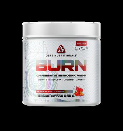 Core Nutritionals BURN Tropical Fruit Punch - 50 Servings