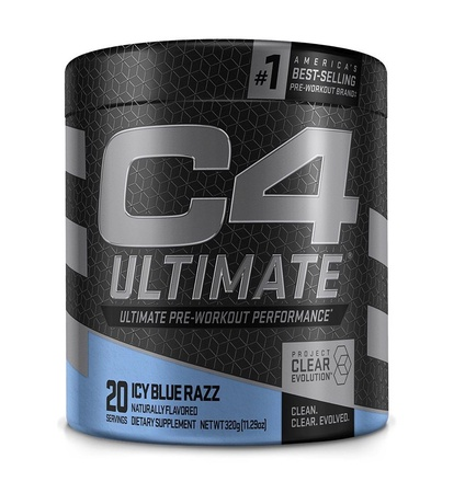Cellucor C4 Ultimate Icy Blue Razz - 20 Servings