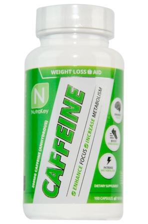 Nutrakey Caffeine 200 Mg - 100 Capsules