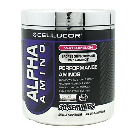 Cellucor Alpha Amino Watermelon - 30 Servings