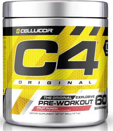 Cellucor C4 Fruit Punch - 60 Serving