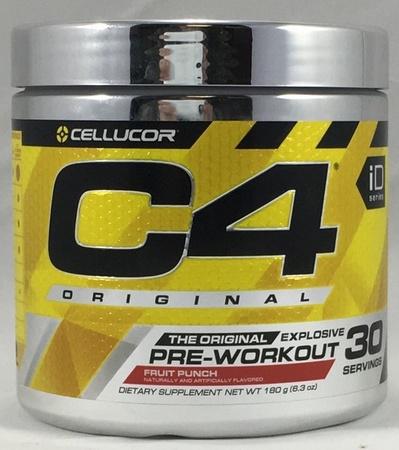 Cellucor C4 Original Fruit Punch - 30 Serving