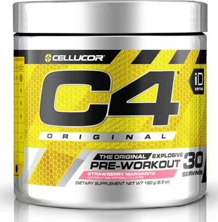 Cellucor C4 Original Strawberry Margarita - 30 Serving
