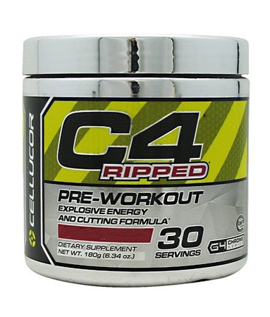 Cellucor C4 Ripped Blue Raspberry - 30 Servings