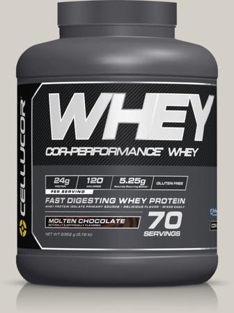Cellucor COR-Performance Whey Molten Chocolate - 5 Lb