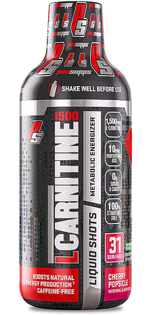 Pro Supps L-Carnitine 1500 (Caffeine Free)  Cherry Popsicle - 30 Servings