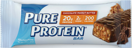 Pure Protein Bars 50g Chocolate Peanut Butter - 6 Bars