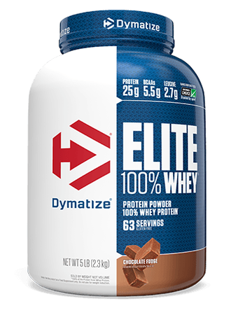 Dymatize Elite Whey Chocolate Fudge - 5 Lb