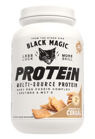 Black Magic Supply Multi-Source Protein Cinnamon Toast Cereal  - 25 Servings