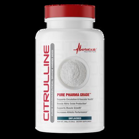 Metabolic Nutrition Citrulline Powder Unflavored - 300 Grams
