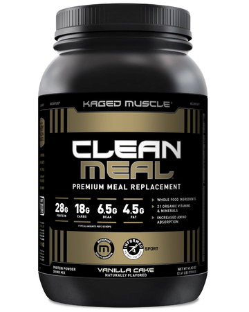 Kaged Muscle Clean Meal  Vanilla Cake - 20 Servings
