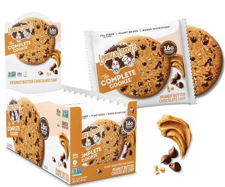 Lenny & Larry's The Complete Cookie Peanut Butter Chocolate - 12 Cookies