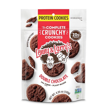 Lenny & Larry's Complete Crunch Cookies Double Chocolate - 4.25 oz Bag