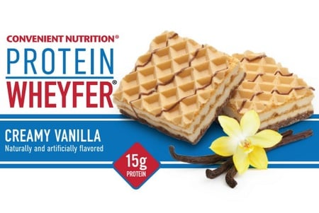 Convenient Nutrition Wheyfer Protein Bars Vanilla - 10 Bars