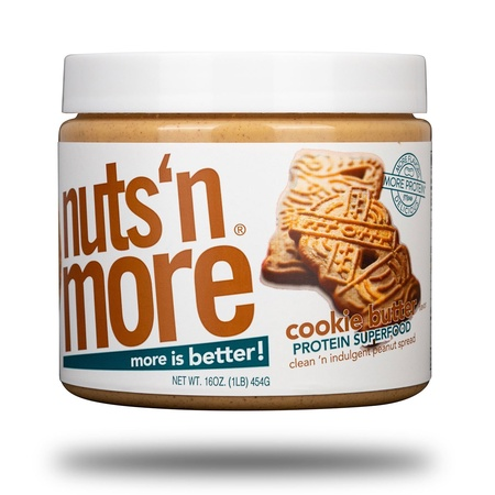 Nuts n More Cookie Butter - 16 Oz