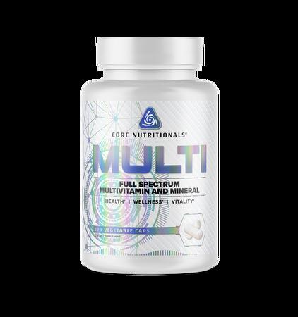 Core Nutritionals Multi  Multi Vitamin & Mineral - 120 Cap - 30 Day Supply