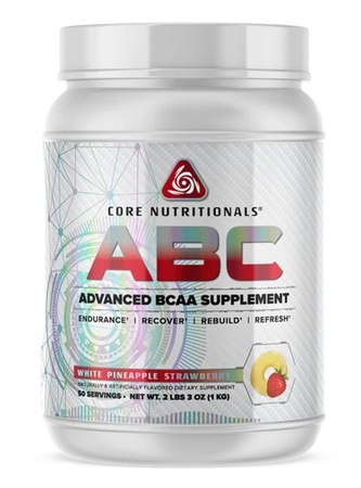 Core Nutritionals ABC White Pineapple Strawberry - 50 Servings