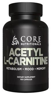 Core Nutritionals Acetyl L-Carnitine 500 Mg - 100 Cap