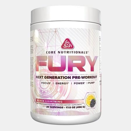 Core Nutritionals FURY Black Lightning - 20 Servings